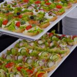 kanapki z pastami i warzywami - firma cateringowa warszawa