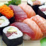 Usługi cateringowe: sushi
