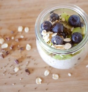 Porridge Vegan Chia Muesli Oatmeal Breakfast